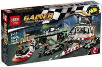 Конструктор Lepin Mercedes AMG Petronas Formula One Team 28006