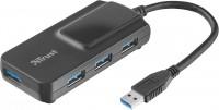 Картридер/USB-хаб Trust Oila 4 Port USB 3.1 Hub