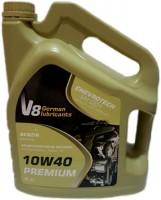 Моторное масло V8 Oil Premium 10W-40 4L