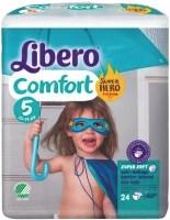 Подгузники Libero Comfort Hero Collection 5 / 24 pcs