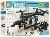 Конструктор Jubilux SWAT Corps C0536A