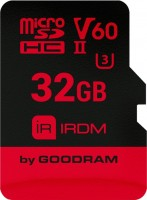Карта памяти GOODRAM microSDHC IRDM V60 UHS II U3 32Gb