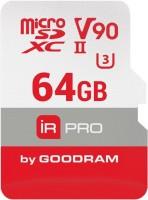 Карта памяти GOODRAM microSDXC IRDM Pro V90 UHS II U3 64Gb