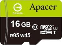 Карта памяти Apacer microSDHC 95/45 UHS-I U3 16Gb