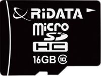 Карта памяти RiDATA microSDHC Class 10 16Gb