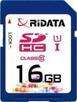 Карта памяти RiDATA SDHC Class 10 UHS-I 16Gb