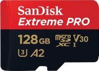 Фото - Карта памяти SanDisk Extreme Pro V30 A2 microSDXC UHS-I U3 128Gb