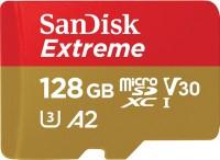 Карта памяти SanDisk Extreme V30 A2 microSDXC UHS-I U3 128Gb