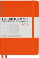 Ежедневник Leuchtturm1917 Weekly Planner Notebook Orange