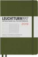 Ежедневник Leuchtturm1917 Weekly Planner Notebook Army