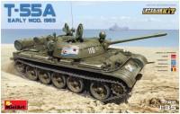 Сборная модель MiniArt T-55A Early Mod. 1965 37016 (1:35)