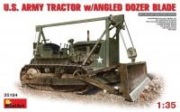Сборная модель MiniArt U.S. Army Tractor w/Angled Dozer Blade (1:35)