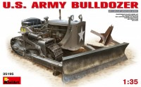 Сборная модель MiniArt U.S. Army Bulldozer (1:35)