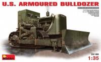 Сборная модель MiniArt U.S. Armoured Bulldozer (1:35)