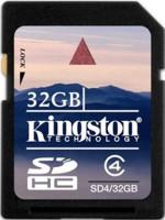 Фото - Карта памяти Kingston SDHC Class 4 32Gb