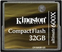 Фото - Карта памяти Kingston CompactFlash Ultimate 600x 32Gb