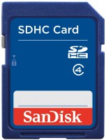 Карта памяти SanDisk SDHC Class 4 16Gb