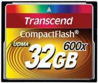 Фото - Карта памяти Transcend CompactFlash 600x 32Gb