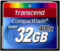 Карта памяти Transcend CompactFlash 400x 32Gb