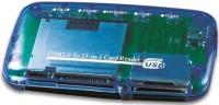 Картридер/USB-хаб Gembird FD2-ALLIN1