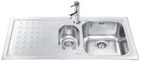 Кухонная мойка Smeg LV100S-3