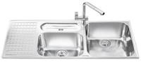 Кухонная мойка Smeg LTS1163S-2