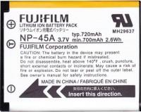 Аккумулятор для камеры Fuji NP-45A