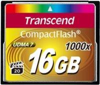 Фото - Карта памяти Transcend CompactFlash 1000x 16Gb