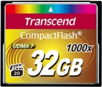 Карта памяти Transcend CompactFlash 1000x 32Gb
