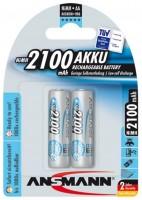 Аккумуляторная батарейка Ansmann maxE 2xAA 2100 mAh