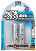 Аккумуляторная батарейка Ansmann Digital 2xAA 2850 mAh