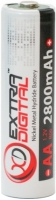 Аккумуляторная батарейка Extra Digital 1xAA 2800 mAh