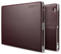 Фото - Чехол Spigen Folio.S Plus Leather Case for iPad 2/3/4