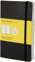 Блокнот Moleskine Squared Soft Notebook Pocket