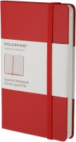 Блокнот Moleskine Squared Notebook Pocket Red