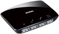 Картридер/USB-хаб D-Link DUB-1340