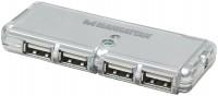 Фото - Картридер/USB-хаб MANHATTAN Classic Desing 4 ports USB 2.0