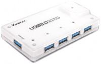 Картридер/USB-хаб Viewcon VE323