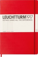 Блокнот Leuchtturm1917 Ruled Master Slim Red