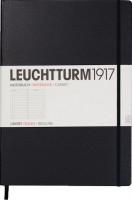 Блокнот Leuchtturm1917 Ruled Master Slim Black