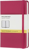 Блокнот Moleskine Squared Notebook Pocket Pink