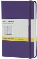 Блокнот Moleskine Squared Notebook Pocket Purple