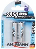 Аккумуляторная батарейка Ansmann 2xAA 2850 mAh