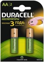 Аккумуляторная батарейка Duracell 2xAA 1300 mAh