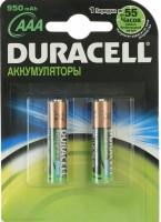 Аккумуляторная батарейка Duracell 2xAAA 950 mAh