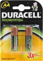 Аккумуляторная батарейка Duracell 2xAA 1700 mAh