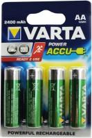 Аккумуляторная батарейка Varta Power 4xAA 2400 mAh