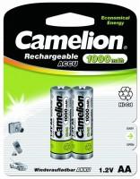 Фото - Аккумуляторная батарейка Camelion 2xAA 1000 mAh