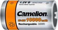 Фото - Аккумуляторная батарейка Camelion 2xD 10000 mAh