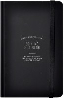 Блокнот Ogami Ruled Professional Hardcover Mini Black